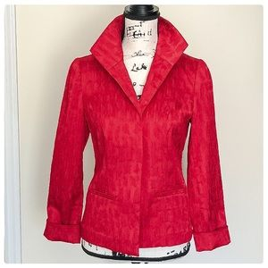❤️Chico's Red Blazer, very cool❤️